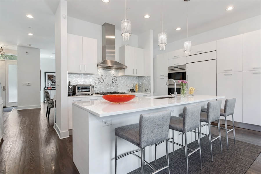 Real Estate Photography - 1534 W Montana, Chicago, IL, 60614 - Kitchen
