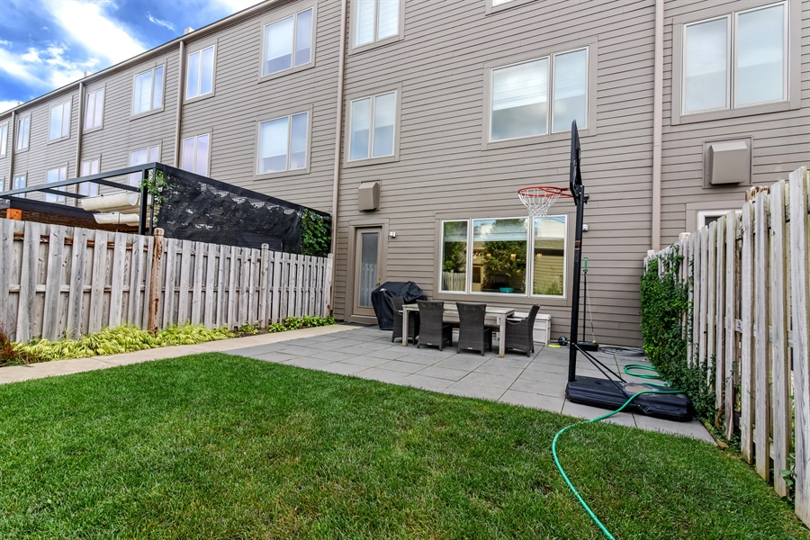 Real Estate Photography - 1534 W Montana, Chicago, IL, 60614 - Back Yard