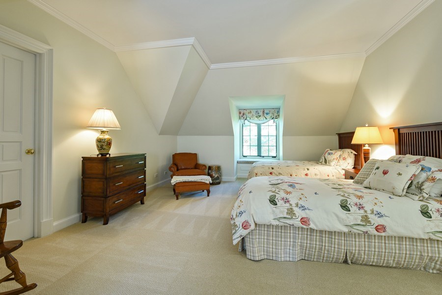 Real Estate Photography - 21923 N Old Barrington Rd, North Barrington, IL, 60010 - 2nd Bedroom