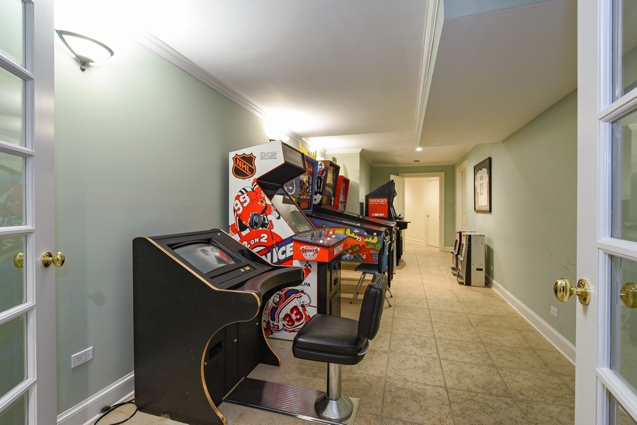 Real Estate Photography - 21923 N Old Barrington Rd, North Barrington, IL, 60010 - Game Room