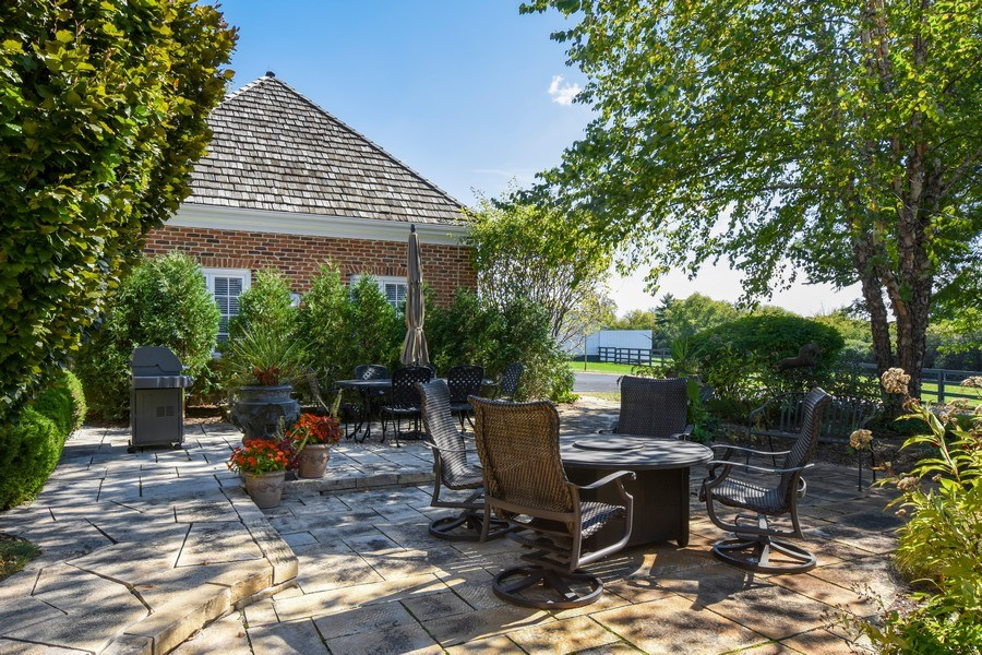 Real Estate Photography - 21923 N Old Barrington Rd, North Barrington, IL, 60010 - Patio