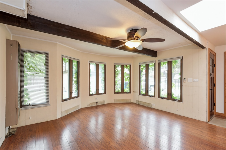 Real Estate Photography - 6612 N Chicora Ave, Chicago, IL, 60612 - Family Room