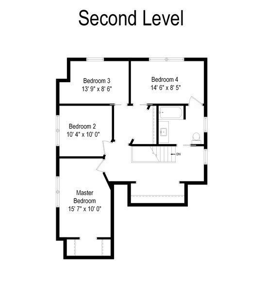 Real Estate Photography - 6612 N Chicora Ave, Chicago, IL, 60612 - Floor Plan