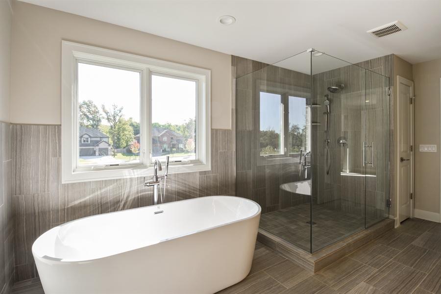 Real Estate Photography - 253 Mark Lane, Lake Zurich, IL, 60047 - Master Bathroom