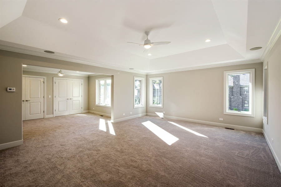 Real Estate Photography - 253 Mark Lane, Lake Zurich, IL, 60047 - Master Bedroom