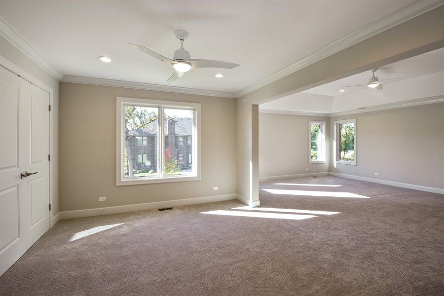 Real Estate Photography - 253 Mark Lane, Lake Zurich, IL, 60047 - Sitting Room