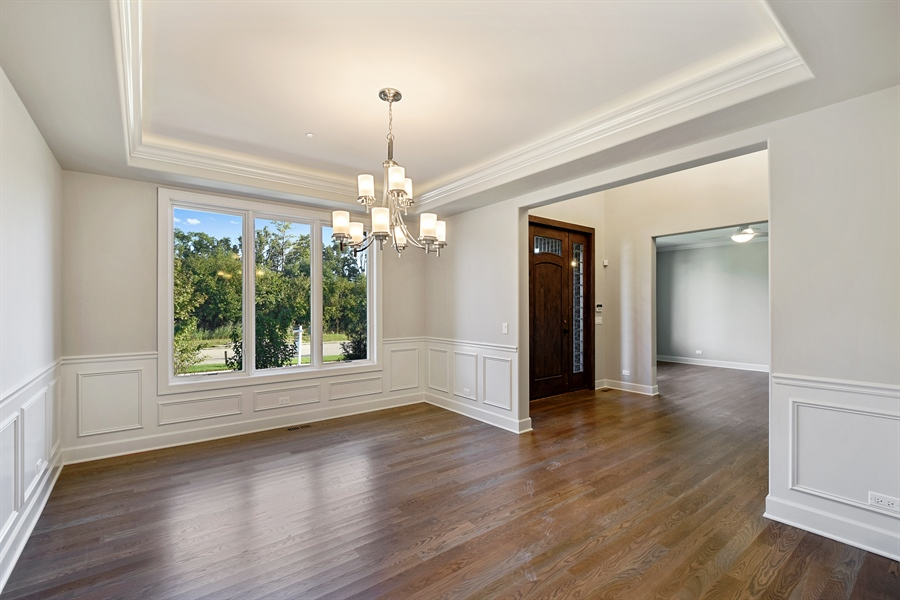 Real Estate Photography - 253 Mark Lane, Lake Zurich, IL, 60047 - Dining Room