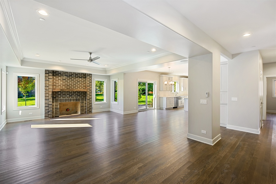 Real Estate Photography - 253 Mark Lane, Lake Zurich, IL, 60047 - Family Room