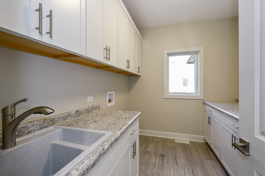 Real Estate Photography - 253 Mark Lane, Lake Zurich, IL, 60047 - Laundry Room