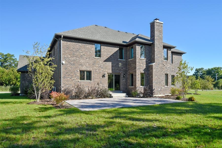 Real Estate Photography - 253 Mark Lane, Lake Zurich, IL, 60047 - Rear View