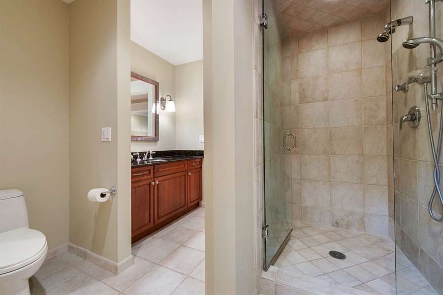 Real Estate Photography - 710 Elder Ct., Glencoe, IL, 60022 - Office Bath
