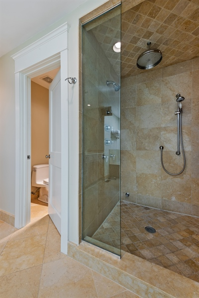 Real Estate Photography - 710 Elder Ct., Glencoe, IL, 60022 - Master Bathroom