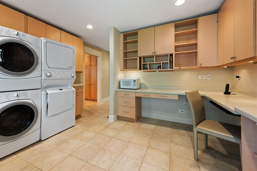 Real Estate Photography - 710 Elder Ct., Glencoe, IL, 60022 - Laundry/Mud Room