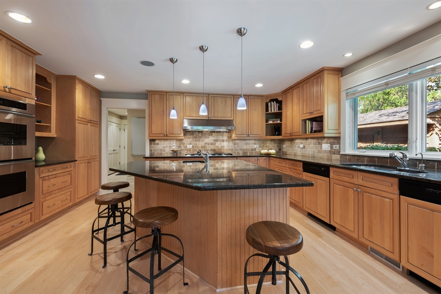 Real Estate Photography - 710 Elder Ct., Glencoe, IL, 60022 - Kitchen