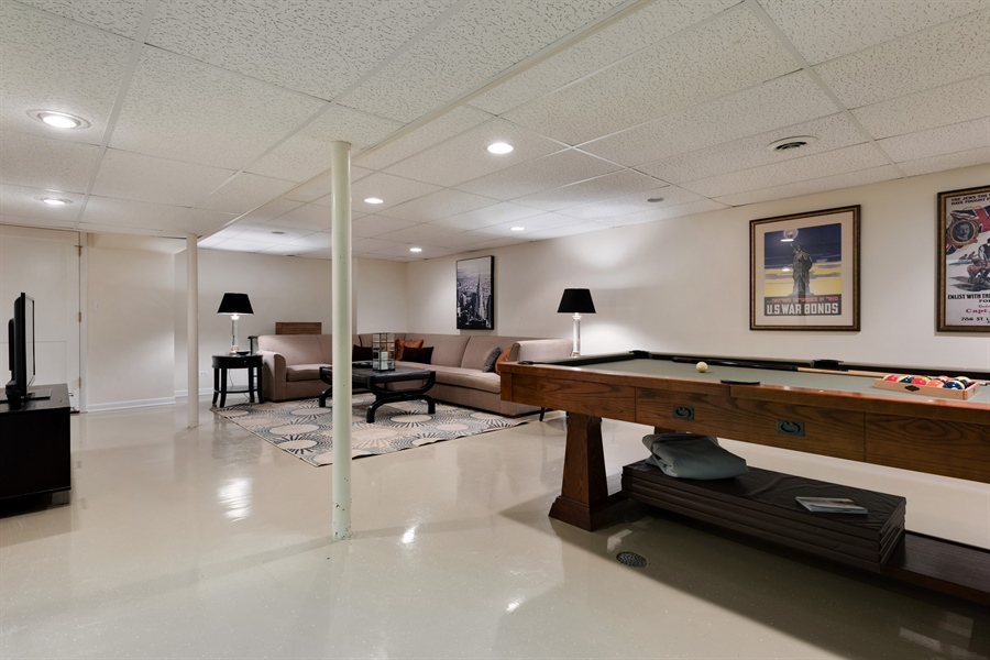 Real Estate Photography - 710 Elder Ct., Glencoe, IL, 60022 - Play / Recreational Room