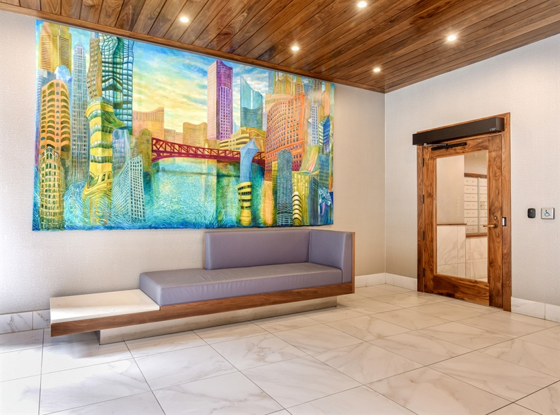 Real Estate Photography - 230 E Ontario St, 1603, Chicago, IL, 60611 - Lobby