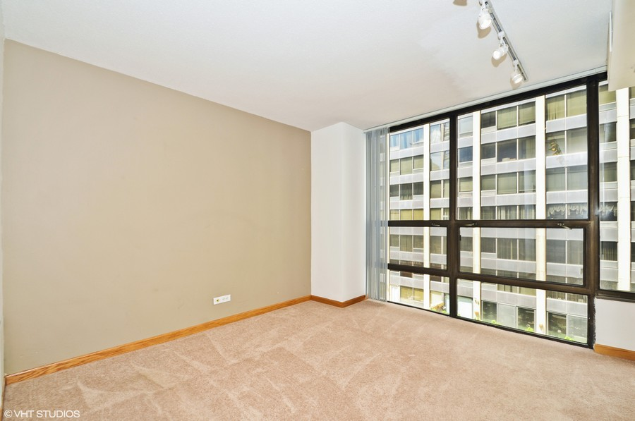 Real Estate Photography - 230 E Ontario St, 1603, Chicago, IL, 60611 - Bedroom