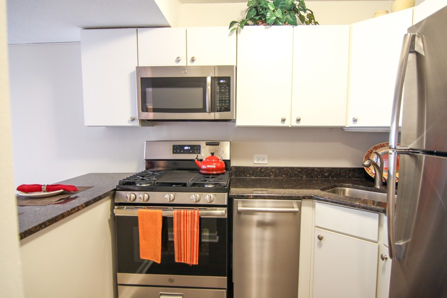 Real Estate Photography - 230 E Ontario St, 1603, Chicago, IL, 60611 - Kitchen