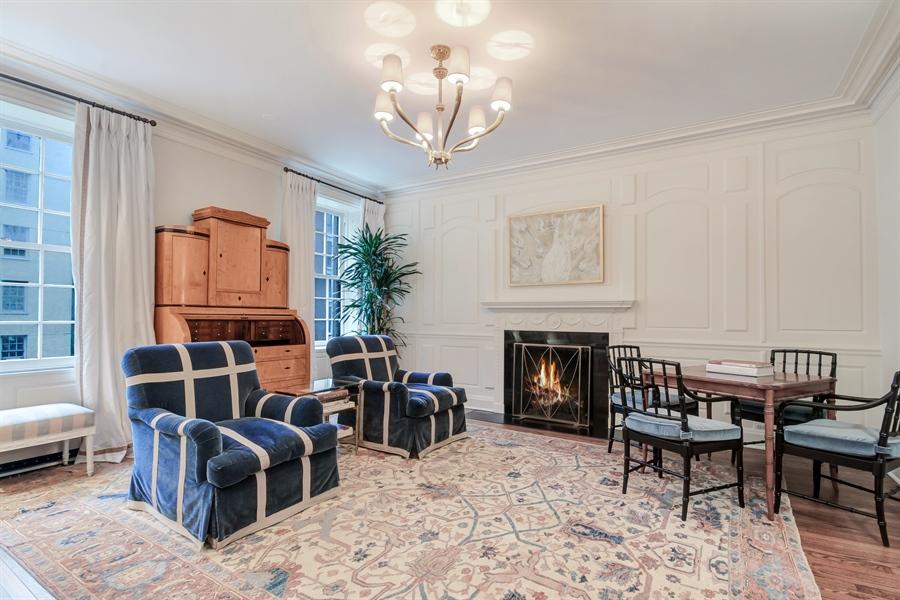 Real Estate Photography - 232 E Walton, 6E, Chicago, IL, 60611 - Living Room