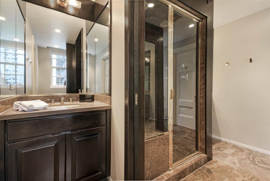 Real Estate Photography - 232 E Walton, 6E, Chicago, IL, 60611 - Master Bathroom