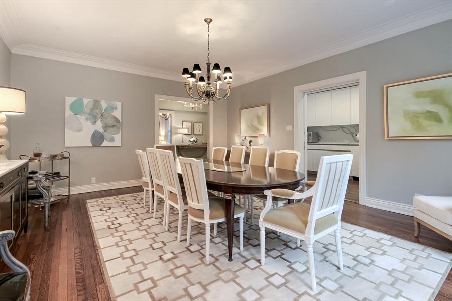 Real Estate Photography - 232 E Walton, 6E, Chicago, IL, 60611 - Dining Room