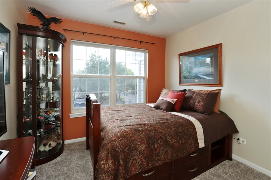 Real Estate Photography - 6868 W MOUNT VERNON, GURNEE, IL, 60031 - Bedroom