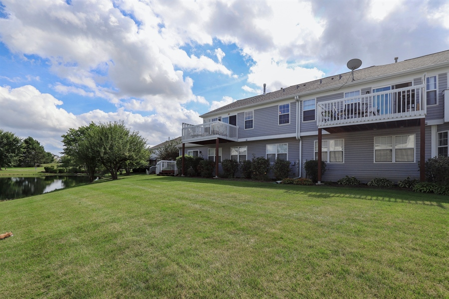 Real Estate Photography - 6868 W MOUNT VERNON, GURNEE, IL, 60031 - Rear View