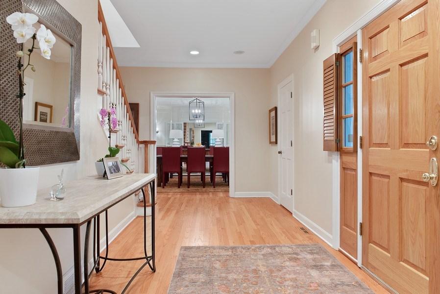 Real Estate Photography - 650 Sheridan Road, Winnetka, IL, 60093 - Foyer/Dining Room
