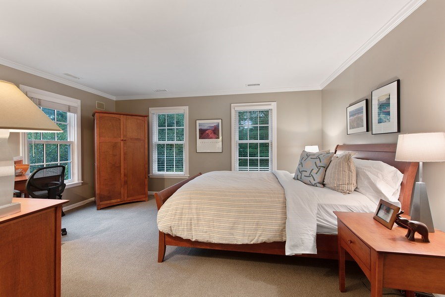 Real Estate Photography - 650 Sheridan Road, Winnetka, IL, 60093 - 2nd Bedroom