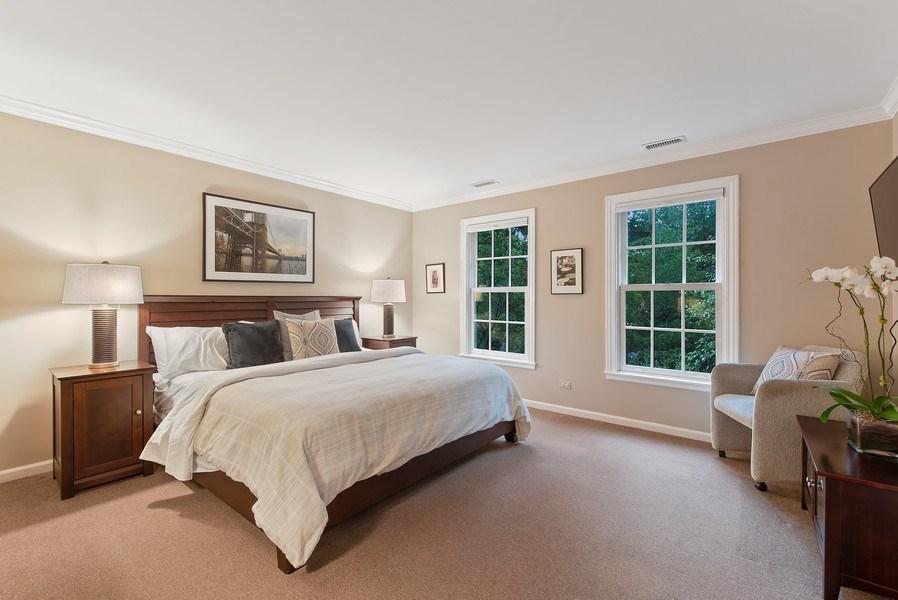Real Estate Photography - 650 Sheridan Road, Winnetka, IL, 60093 - 4th Bedroom