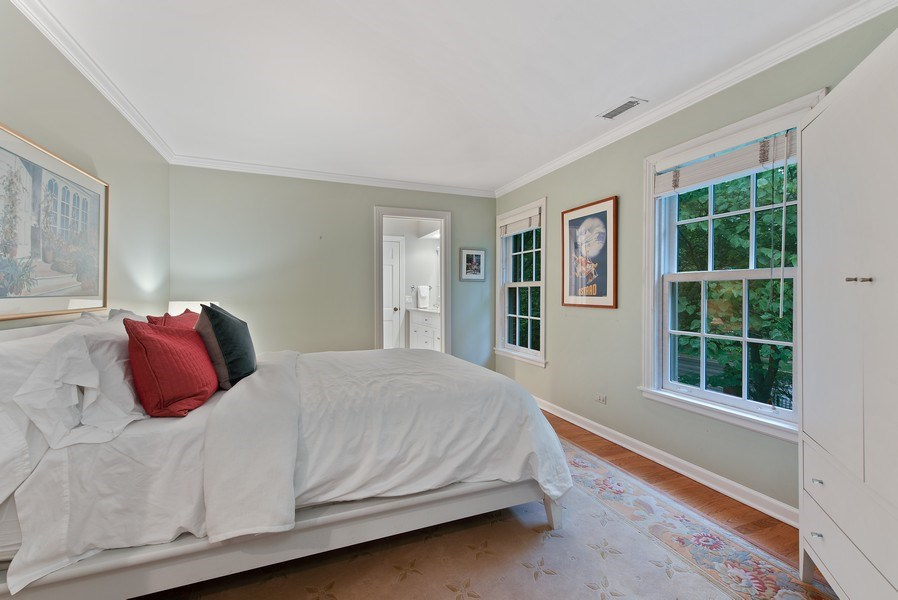 Real Estate Photography - 650 Sheridan Road, Winnetka, IL, 60093 - 5th Bedroom