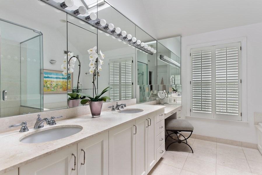 Real Estate Photography - 650 Sheridan Road, Winnetka, IL, 60093 - Master Bathroom