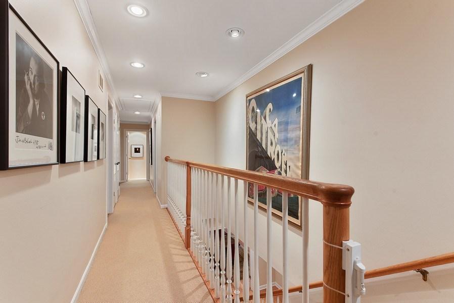 Real Estate Photography - 650 Sheridan Road, Winnetka, IL, 60093 - 2nd Floor Corridor