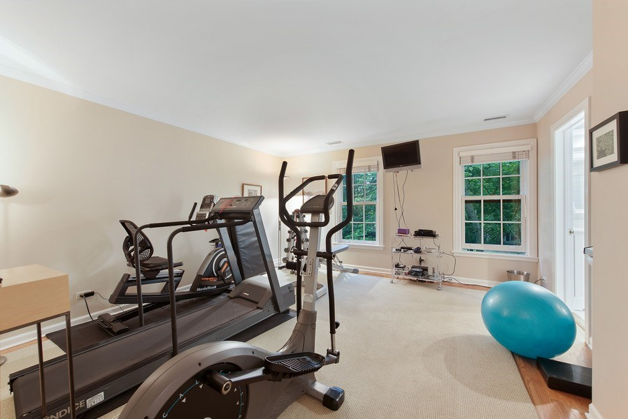 Real Estate Photography - 650 Sheridan Road, Winnetka, IL, 60093 - Exercise Room/ 6th Bed on 2nd Floor