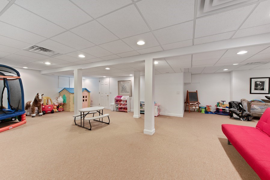 Real Estate Photography - 650 Sheridan Road, Winnetka, IL, 60093 - Recreational Room