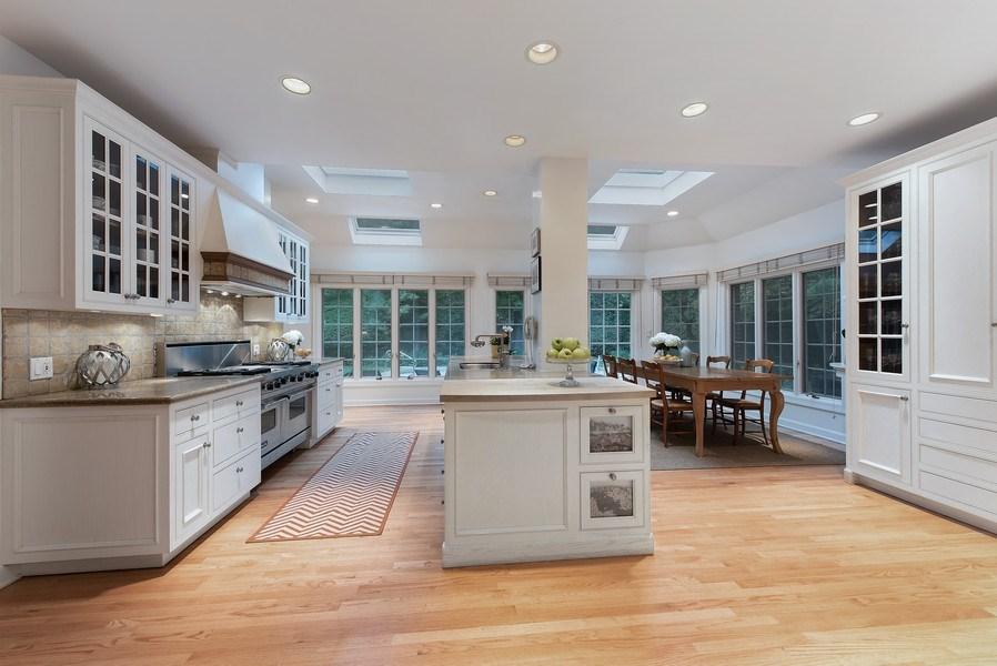 Real Estate Photography - 650 Sheridan Road, Winnetka, IL, 60093 - Kitchen / Breakfast Room
