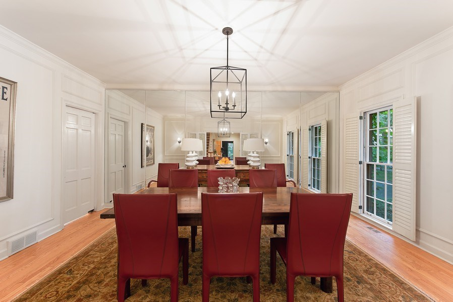 Real Estate Photography - 650 Sheridan Road, Winnetka, IL, 60093 - Dining Room