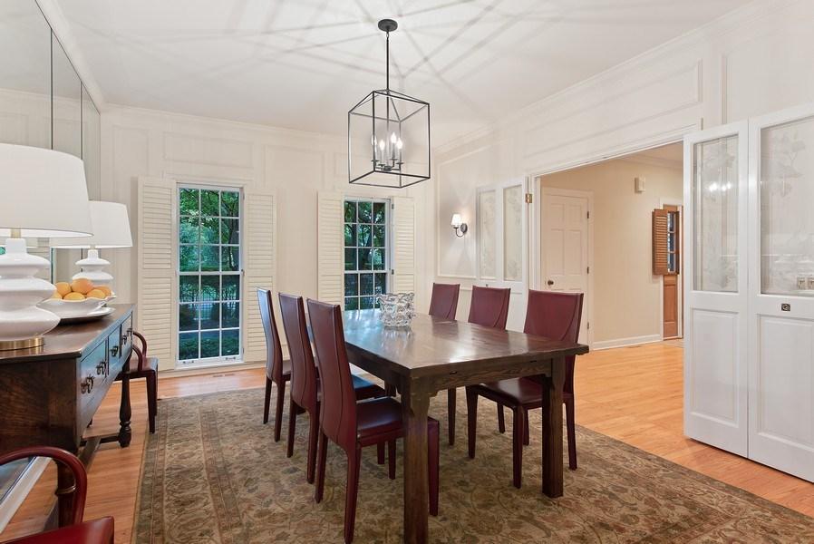 Real Estate Photography - 650 Sheridan Road, Winnetka, IL, 60093 - Dining Area