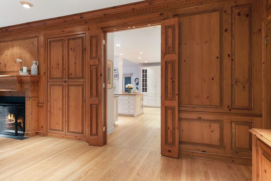 Real Estate Photography - 650 Sheridan Road, Winnetka, IL, 60093 - Family Room / Kitchen