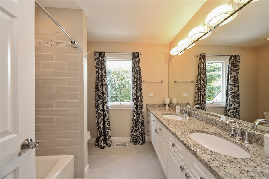 Real Estate Photography - 2 E Prairie Ct, Hawthorn Woods, IL, 60047 - 3rd Bathroom