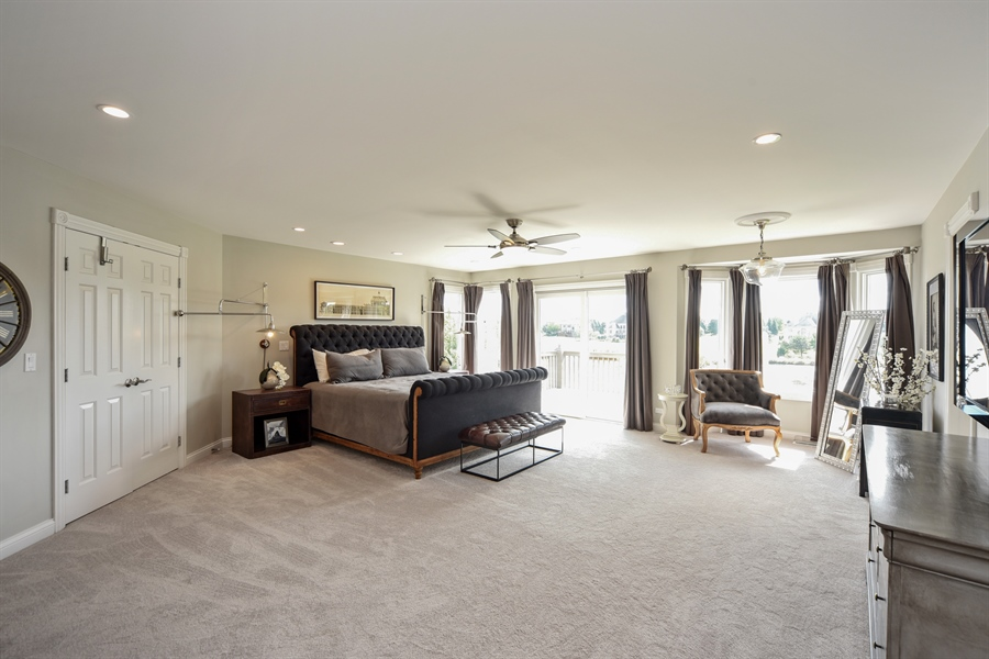 Real Estate Photography - 2 E Prairie Ct, Hawthorn Woods, IL, 60047 - Master Bedroom