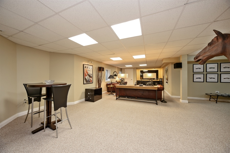 Real Estate Photography - 2 E Prairie Ct, Hawthorn Woods, IL, 60047 - Lower Level