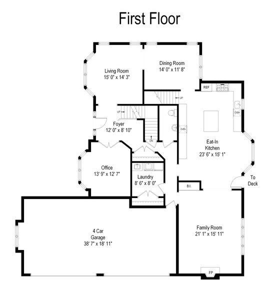 Real Estate Photography - 2 E Prairie Ct, Hawthorn Woods, IL, 60047 - Floor Plan