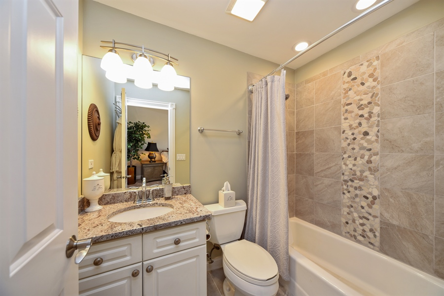 Real Estate Photography - 2 E Prairie Ct, Hawthorn Woods, IL, 60047 - 2nd Bathroom
