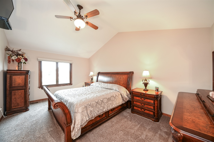Real Estate Photography - 578 Yardley, Mundelein, IL, 60060 - Master Bedroom