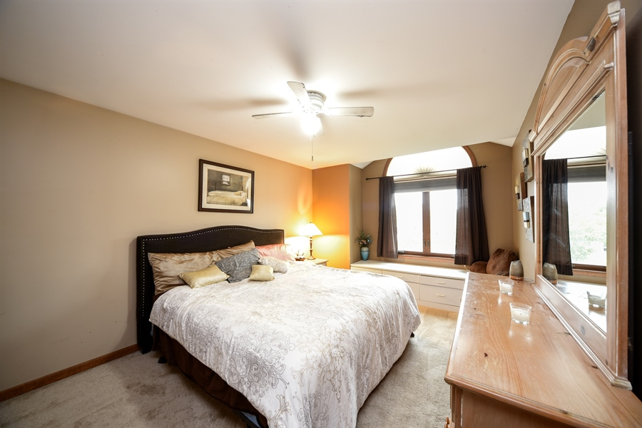 Real Estate Photography - 578 Yardley, Mundelein, IL, 60060 - 2nd Bedroom
