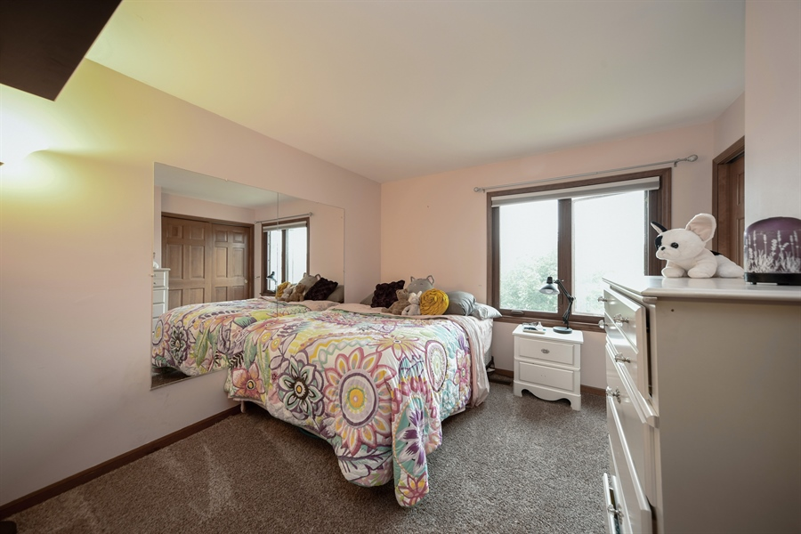 Real Estate Photography - 578 Yardley, Mundelein, IL, 60060 - 4th Bedroom