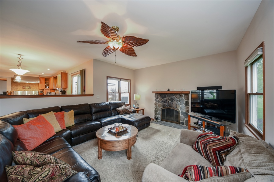 Real Estate Photography - 578 Yardley, Mundelein, IL, 60060 - Family Room
