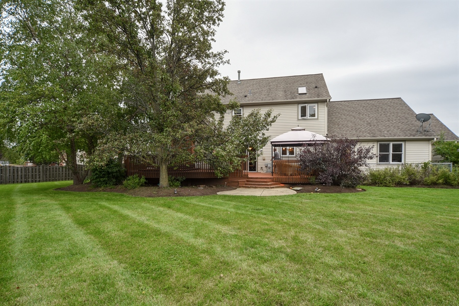 Real Estate Photography - 578 Yardley, Mundelein, IL, 60060 - Rear View