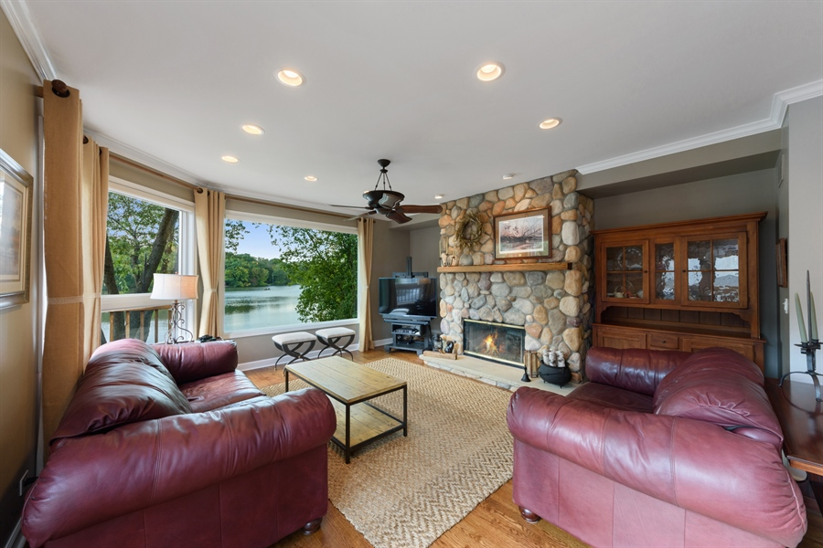 Real Estate Photography - 23858 N Lakeside DR, Lake Zurich, IL, 60047 - Living Room